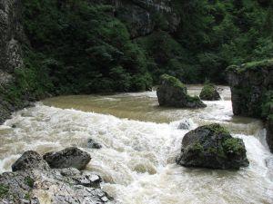 Cheile Bicazului - Râul Bicaz