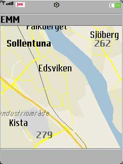 Mobile Maps + J2ME